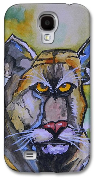 Saving Paintings Galaxy S4 Cases - Saving the Florida Panther Galaxy S4 Case by Warren Thompson