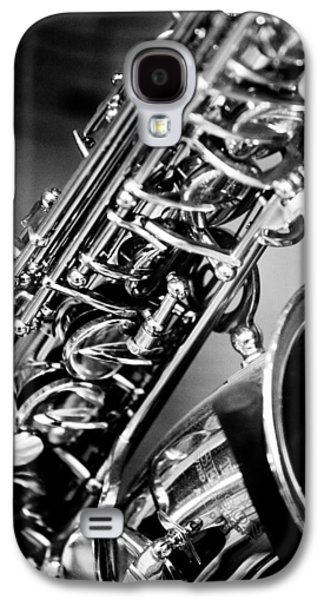 Saxophone Photographs Galaxy S4 Cases - Saxophone Galaxy S4 Case by Hakon Soreide