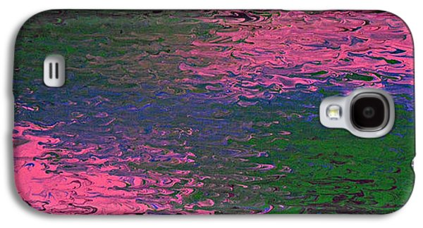 Abstract Digital Paintings Galaxy S4 Cases - Say My Name Galaxy S4 Case by Cyryn Fyrcyd