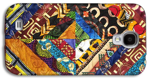 African-americans Tapestries - Textiles Galaxy S4 Cases - Scandalous Galaxy S4 Case by Aisha Lumumba