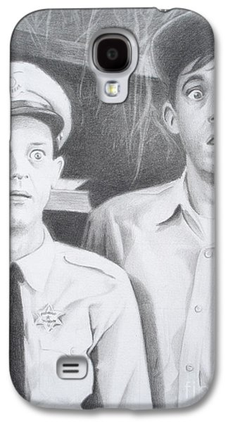 Andy Griffith Show Galaxy S4 Cases - Scared Silly Galaxy S4 Case by Kendra Tharaldsen-Franklin