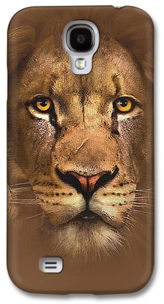 Print Digital Galaxy S4 Cases - Scarface Lion Galaxy S4 Case by Robert Foster