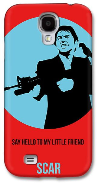 Collection Galaxy S4 Cases - Scarface Poster 1 Galaxy S4 Case by Naxart Studio