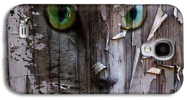 House Pet Digital Art Galaxy S4 Cases - Scaring Fence Galaxy S4 Case by Yury Malkov