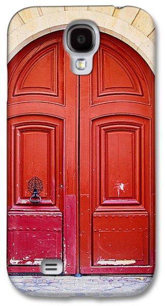 Door Galaxy S4 Cases - Scarlet Galaxy S4 Case by Melanie Alexandra Price