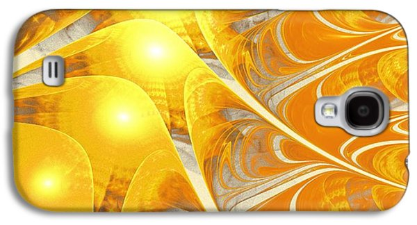 Quote Galaxy S4 Cases - Scattered Sun Galaxy S4 Case by Anastasiya Malakhova