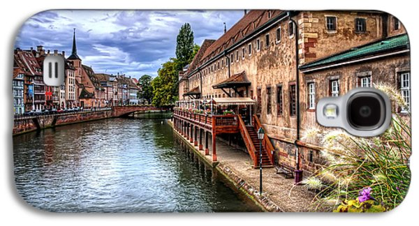Green Galaxy S4 Cases - Scenic Strasbourg  Galaxy S4 Case by Carol Japp