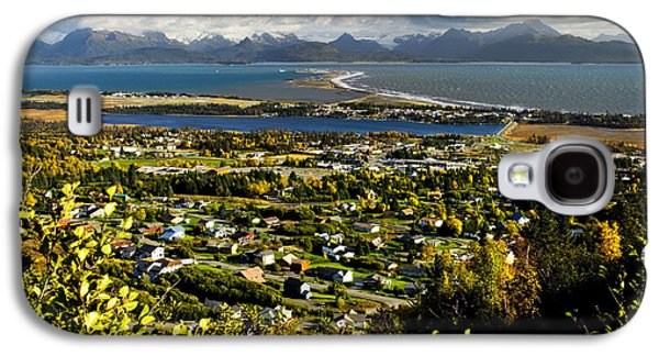 Spit Galaxy S4 Cases - Scenic View Overlooking The Town Of Galaxy S4 Case by Bill Scott