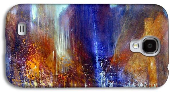 Church Pillars Paintings Galaxy S4 Cases - Schlossallee Galaxy S4 Case by Annette Schmucker