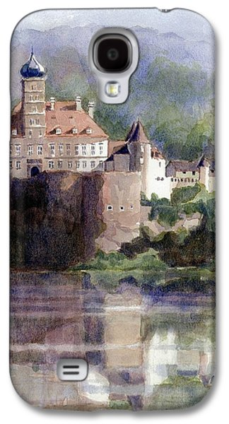 Best Sellers -  - Janet King Galaxy S4 Cases - Schonbuhel Castle in Austria Galaxy S4 Case by Janet King