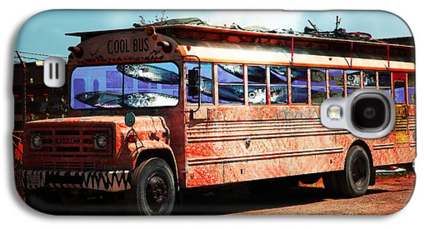 Schools Of Fish Galaxy S4 Cases - School Bus 5D24927 Galaxy S4 Case by Wingsdomain Art and Photography