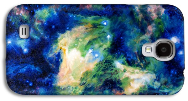 Constellations Drawings Galaxy S4 Cases - Scorpiuss Claw Galaxy S4 Case by Theresa Hentz
