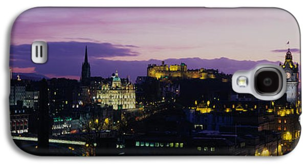 Historical Buildings Galaxy S4 Cases - Scotland, Edinburgh Castle Galaxy S4 Case by Panoramic Images