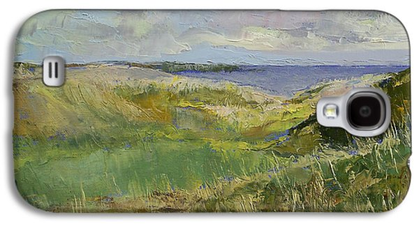 Scotland Paintings Galaxy S4 Cases - Scotland Landscape Galaxy S4 Case by Michael Creese