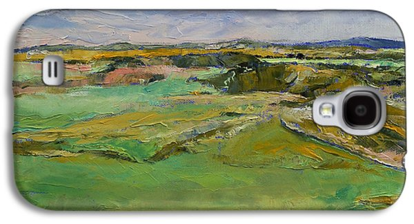 Scotland Paintings Galaxy S4 Cases - Scottish Lowlands Galaxy S4 Case by Michael Creese