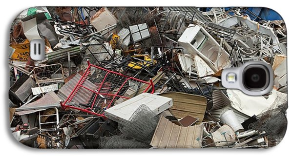 Scrap Metal Awaiting Recycling Galaxy S4 Case by Ashley Cooper