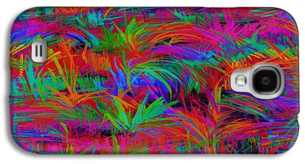 Loose Style Digital Art Galaxy S4 Cases - Scratchy Galaxy S4 Case by Keith Mills