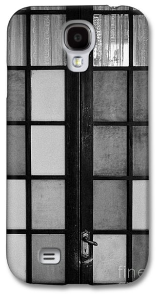 Screen Doors Galaxy S4 Cases - screen door in traditional old house in the barrio paris londres Santiago Chile Galaxy S4 Case by Joe Fox