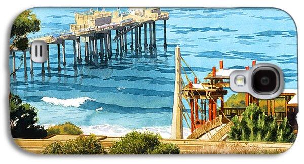 Research Galaxy S4 Cases - Scripps Pier La Jolla Galaxy S4 Case by Mary Helmreich