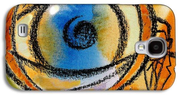 Three Quarter Length Galaxy S4 Cases - Scrutiny Galaxy S4 Case by Leon Zernitsky