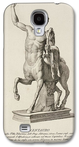 Sculpture Of Centaur From Italy Galaxy S4 Case by British Library
