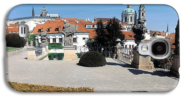 Garden Scene Galaxy S4 Cases - Sculptures In A Garden, Vrtbovska Galaxy S4 Case by Panoramic Images