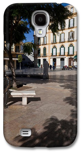 Scupture Of Picasso On The Plaza De La Galaxy S4 Case by Panoramic Images