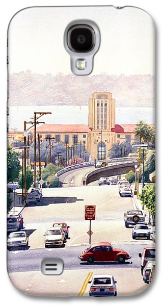 City Scene Galaxy S4 Cases - SD County Administration Building Galaxy S4 Case by Mary Helmreich
