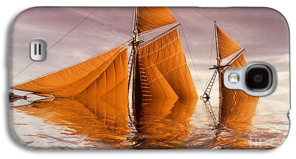 Aimelle Galaxy S4 Cases - Sea Boat Collections - Naufrage  c02 Galaxy S4 Case by Variance Collections