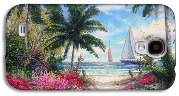 Sea Breeze Trail Galaxy S4 Case by Chuck Pinson