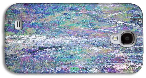 Interior Scene Mixed Media Galaxy S4 Cases - Sea Expressions Galaxy S4 Case by John Fish