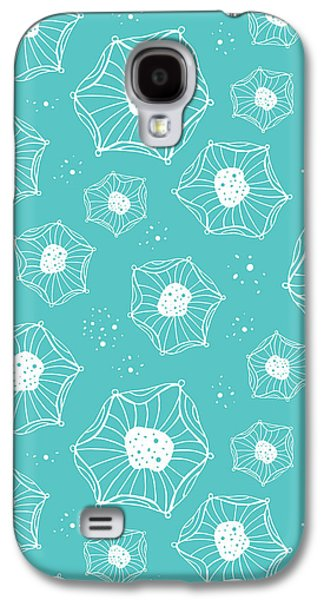 Bold Style Galaxy S4 Cases - Sea Flower Galaxy S4 Case by Susan Claire