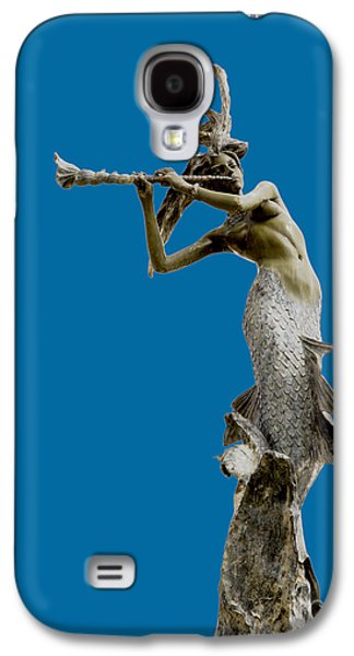 Print Sculptures Galaxy S4 Cases - Sea Goddess Galaxy S4 Case by David Millenheft