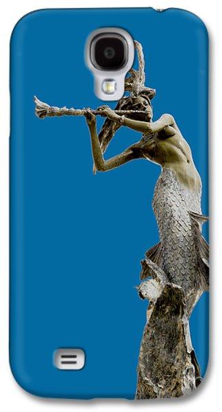 Print Sculptures Galaxy S4 Cases - Sea Goddess Galaxy S4 Case by David Millenheft