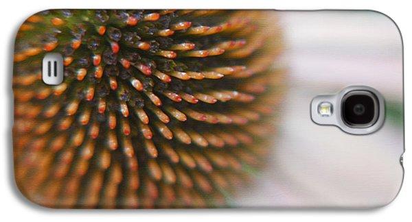Abstracted Coneflowers Galaxy S4 Cases - Sea Hedgehog Galaxy S4 Case by Irina Wardas