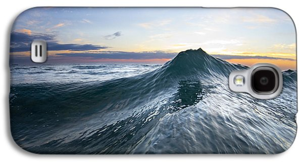 Ocean Galaxy S4 Cases - Sea Mountain Galaxy S4 Case by Sean Davey