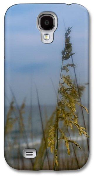 Topsail Galaxy S4 Cases - Sea Oats  Galaxy S4 Case by Shane Holsclaw