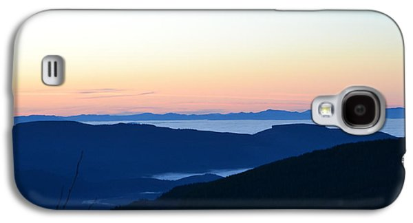 Temperature Inversion Galaxy S4 Cases - Sea of fog Galaxy S4 Case by Nancy Herring