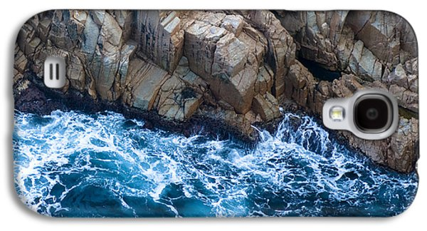 Blueish Galaxy S4 Cases - Sea Rocks Galaxy S4 Case by Frank Tschakert