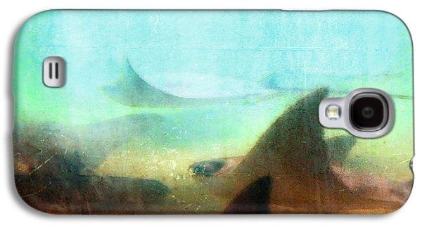 Sea Spirits - Manta Ray Art By Sharon Cummings Galaxy S4 Case by Sharon Cummings