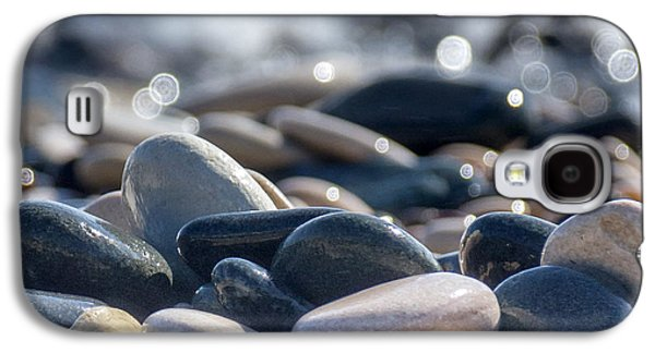 Nature Abstracts Galaxy S4 Cases - Sea Stones  Galaxy S4 Case by Stylianos Kleanthous