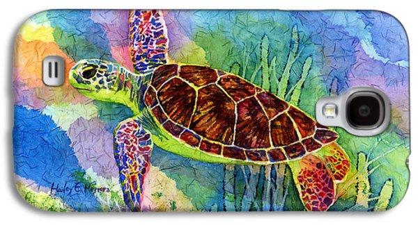 Sea Turtle Galaxy S4 Case by Hailey E Herrera