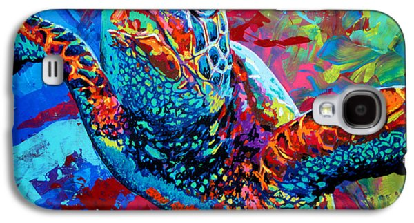 Arango Galaxy S4 Cases - Sea Turtle Galaxy S4 Case by Maria Arango