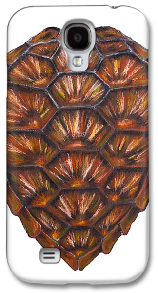 Nature Abstract Pastels Galaxy S4 Cases - Sea Turtle Shell Galaxy S4 Case by Alexandra Nicole Newton