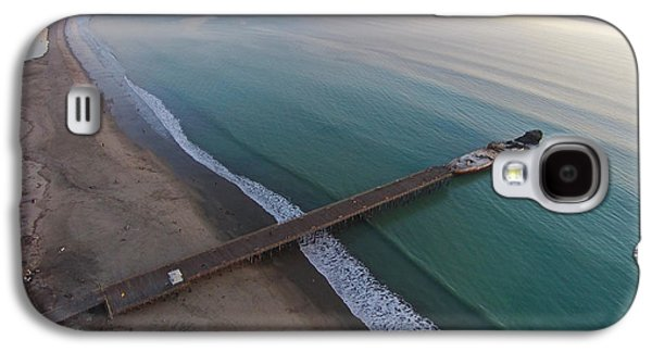 Seacliff State Beach From Above Galaxy S4 Case by David Levy