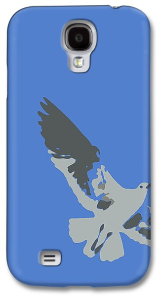 Digital Galaxy S4 Cases - Seagull in Flight Galaxy S4 Case by Ramona Johnston