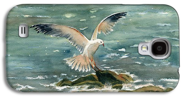 Seagull Galaxy S4 Case by Melly Terpening