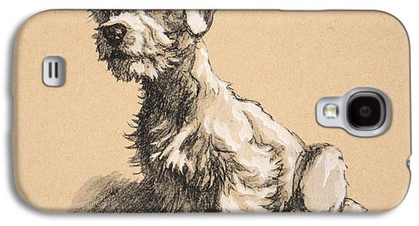 Sealyham Galaxy S4 Case by Cecil Charles Windsor Aldin