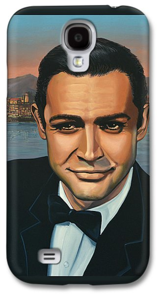 Sean Connery As James Bond Galaxy S4 Case by Paul Meijering