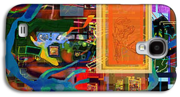 Inner Self Galaxy S4 Cases - Search For The Straying Son 14k Galaxy S4 Case by David Baruch Wolk